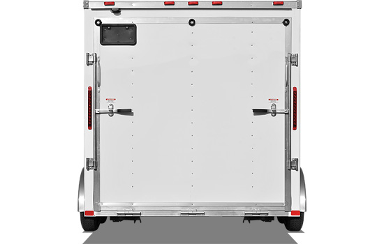 ARSFTW and ARTFTW Aluminum Cargo Trailer Back