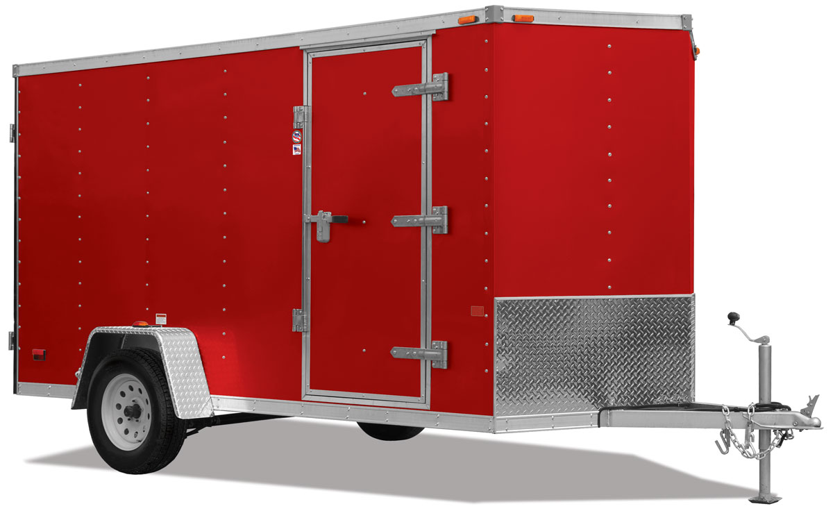 ARSFTW Flat Top Wedge Aluminum General Cargo Trailer