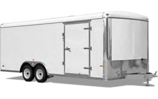 Aluminum Round Top Car Hauler