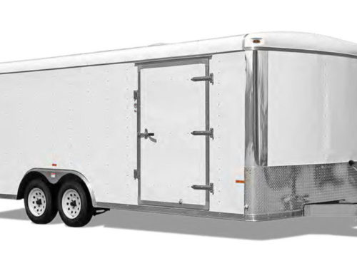 Round Top Car Hauler (aluminum)