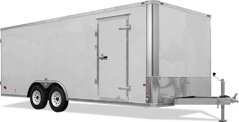 Truck Body Aluminum General Cargo Trailer