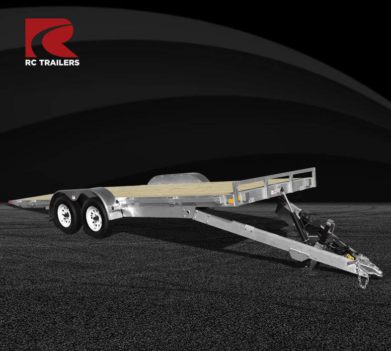 Open Car Hauler Tilt Loader