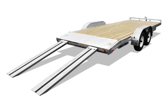 Open Car Hauler Ramp Loader