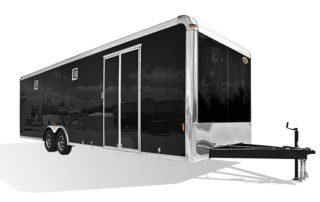 Crown Series Race Trailer Steel