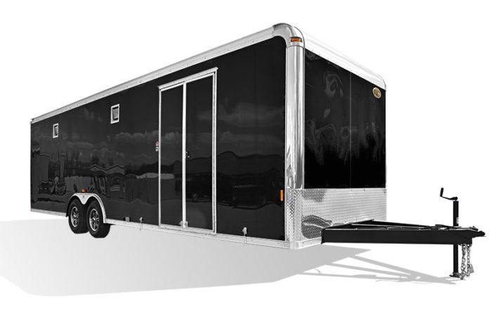 Crown Series Race Trailer Steel