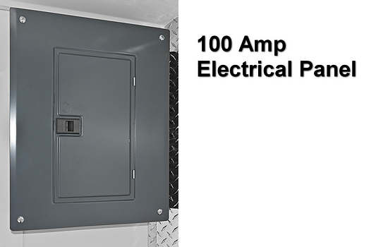 RC Concession RTB 8.5x19 100 Amp Electrical Panel