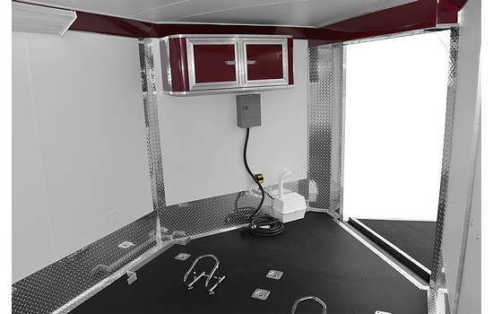 RC RSCT Combo Trailer Interior