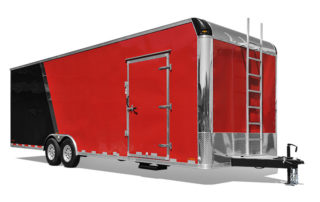 Steel Flat Top Race Trailer