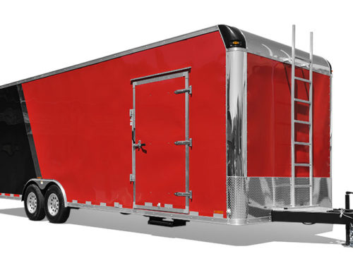 Flat Top Race Trailer (steel)