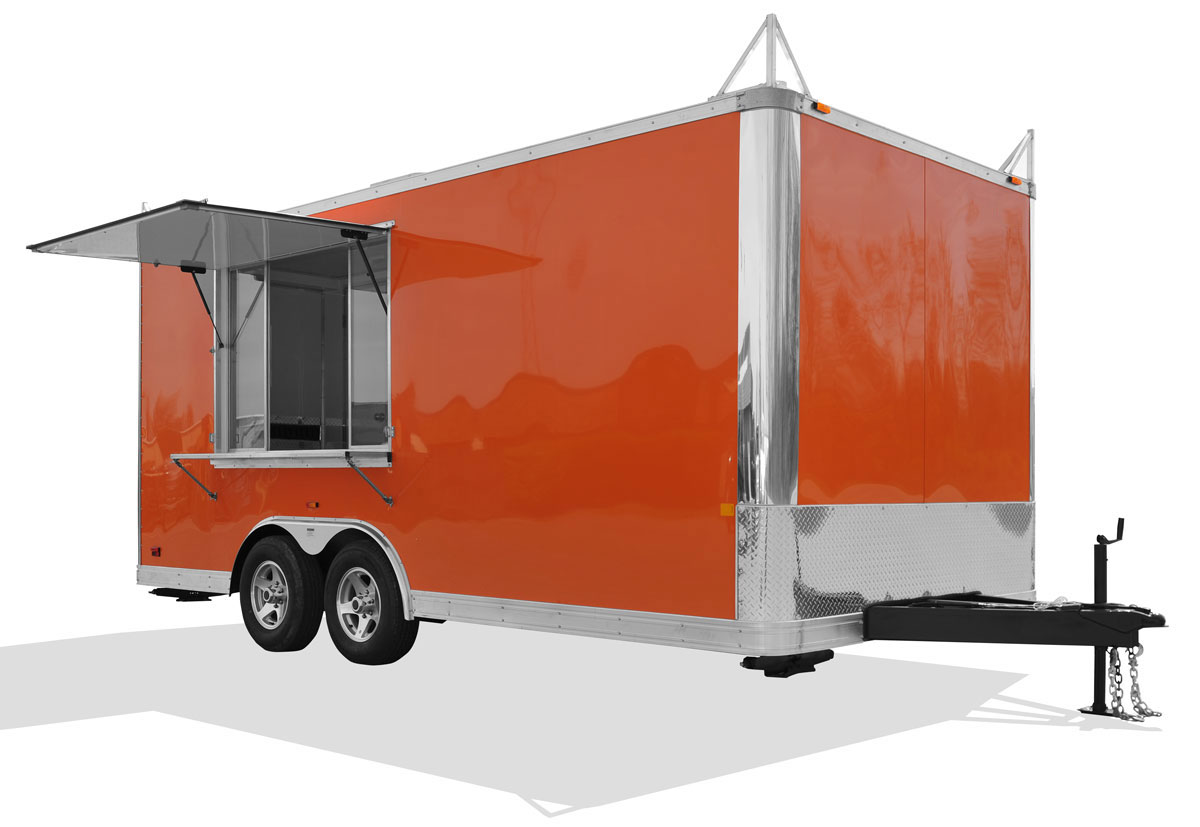 RTB Concession Trailer Steel