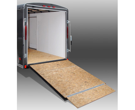 Torsion Bar Operated Ramp Door